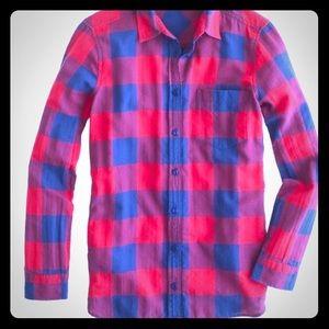 J. Crew Tall flannel shirt in Buffalo Check